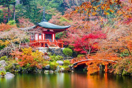 Kyoto, Japan at Daigoji Temple.