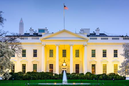 or blanc: Washington, DC à la Maison Blanche