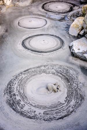 "to hell: Oniishibozu Hot Springs ""Infierno"" de Beppu, Jap�n."