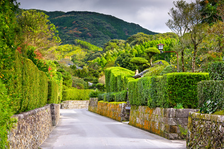 samourai: Chiran, Kagoshima, Japon dans le district Samurai.