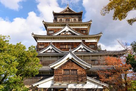 hiroshima: Hiroshima Castle in Hiroshima, Japan.