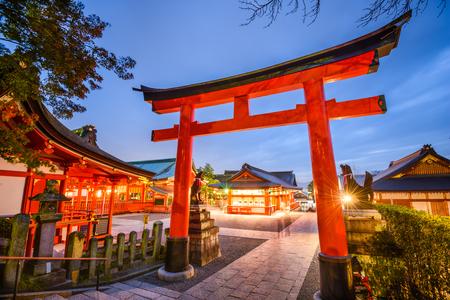 Fushimi Inari Taisha Shrine in Kyoto, Japan.
