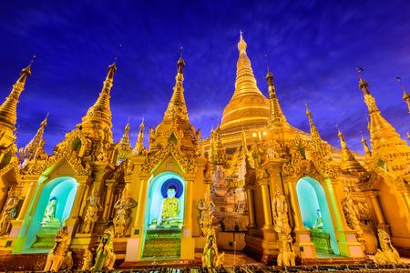 Shwedagon-Pagode in Yangon, Myanmar. Standard-Bild - 50256742