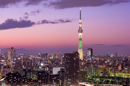 Tokyo: Tokyo, Japan skyline.