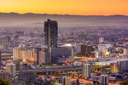 Kumamoto, Japan downtown skyline. Фото со стока