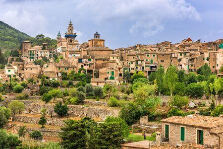 Valldemossa, Mallorca, Spain village. 版權商用圖片
