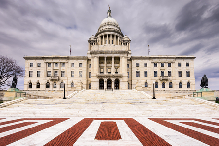 providence: Rhode Island State House in Providence, Rhode Island.