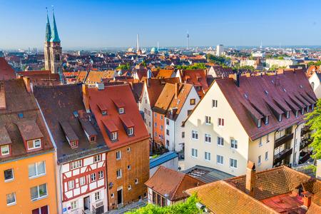 Nürnberg, Deutschland Altstadt Skyline.