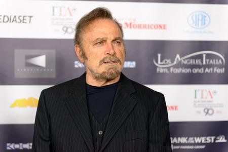 FEBRUARY 22, 2016: The actor Franco Nero at the Los Angeles Italian Film Festival. 新聞圖片
