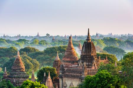 Bagan, Myanmar archeological zone.