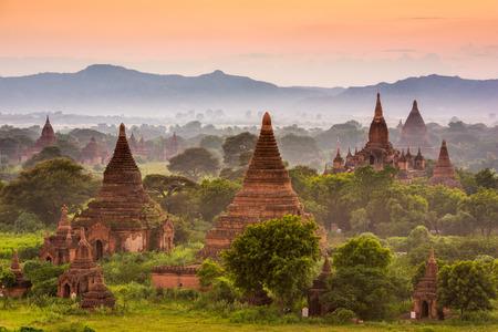 bagan: Bagan, Myanmar archeological zone.