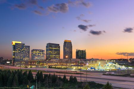 atl: Atlanta, Georgia, USA midtown skyline.