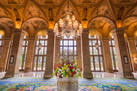 lobbies: WEST PALM BEACH, FLORIDA - APRIL 4, 2016: The exterior of Breakers Hotel in West Palm Beach. The hotel dates from 1925. Editorial