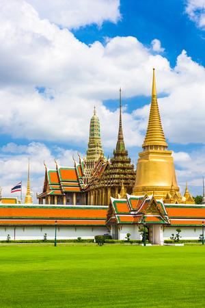 the grand palace: Grand Palace of Bangkok, Thailand. Editorial