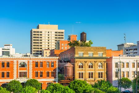montgomery: Montgomery, Alabama, USA downtown buildings. Stock Photo
