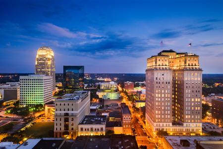winston: Winston-Salem, North Carolina, USA skyline.