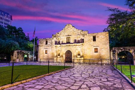 The Alamo in San Antonio, Texas, USA. Editorial