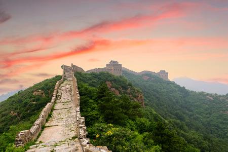 Jinshanling 섹션에서 중국의 만리 장성. 스톡 콘텐츠 - 62625518