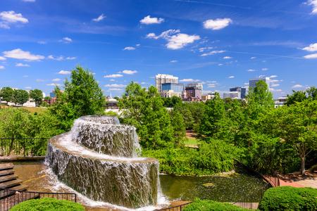 arsenal: Columbia, South Carolina, USA at Finlay Park Fountain.