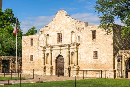 antonio: The Alamo in San Antonio, Texas, USA. Stock Photo