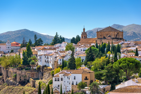 ronda: Ronda, Spain old town cityscape. Stock Photo