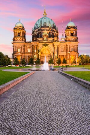 The Berlin Cathedral in Berlin, Germany. Stock Photo
