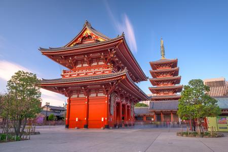 Sensoji Temple in Asakusa, tokyo, Japan.