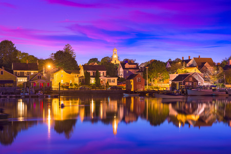 Portsmouth, New Hampshire, USA townscape. Stock Photo