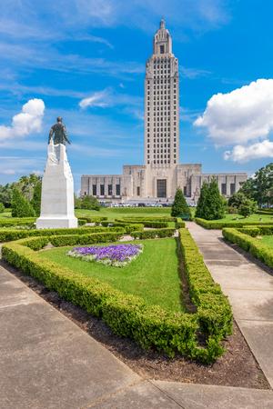 Baton Rouge, Louisiana, EE.UU. en Louisiana State Capitol.