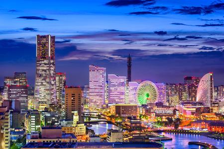 minato: Yokohama, Japan cityscape of Minato Mirai District.