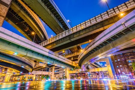 elevated: Elevated Highways and Roads in Osaka, Japan.