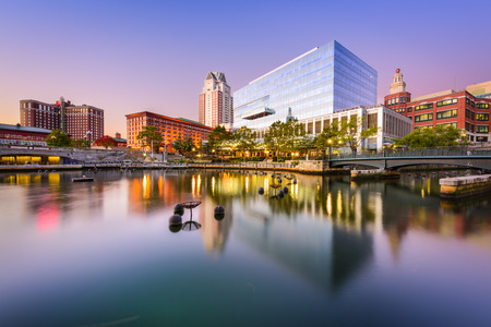 Providence, Rhode Island, USA park and skyline. Stock fotó - 67443556