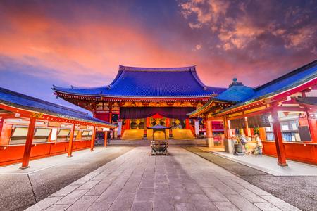 Temple in Tokyo, Japan.