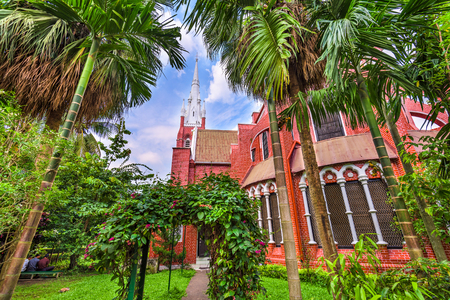 St. Marys Cathedral in Yangon, Myanmar.