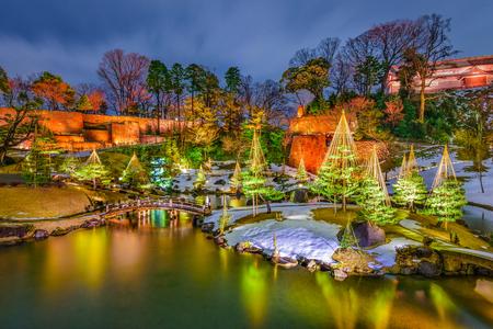 Kanazawa, Japan at Gyokuseninmaru Garden.