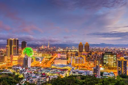 Taipei, Taiwan downtown skyline. Reklamní fotografie