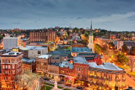 Macon, Georgia, USA downtown skyline. Stockfoto