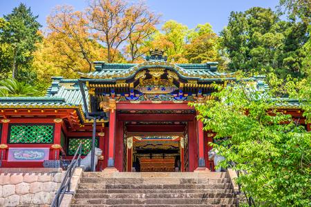 Shizuoka, Japan at Kunozan Toshogu Shrine. Stock Photo