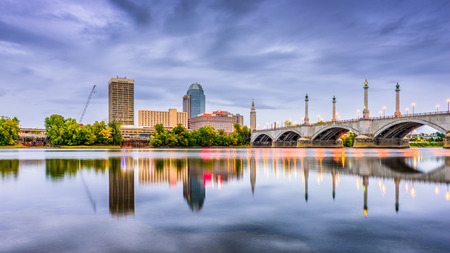 Springfield, Massachusetts, USA downtown skyline. Stock Photo - 79425324