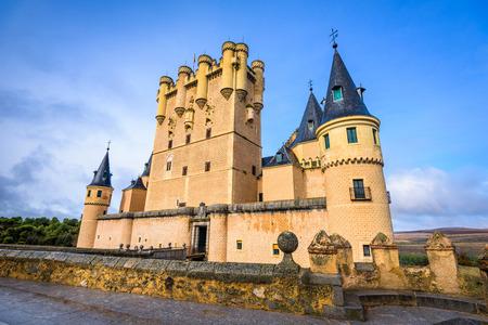 Segovia, Spain at Segovia Castle.