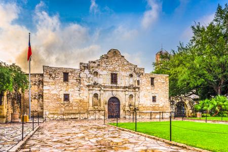 The Alamo in San Antonio, Texas, USA. Stock Photo