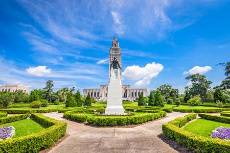 Capitolio del Estado de Louisiana en Baton Rouge, Louisiana, EE.UU.. Foto de archivo
