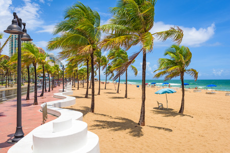 Fort Lauderdale, Florida, USA at the Beach.