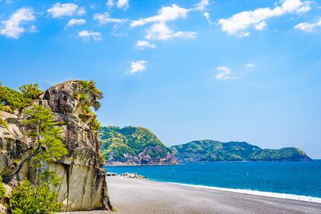Lion Crag (Shishi-iwa) in Kumano, Japan.