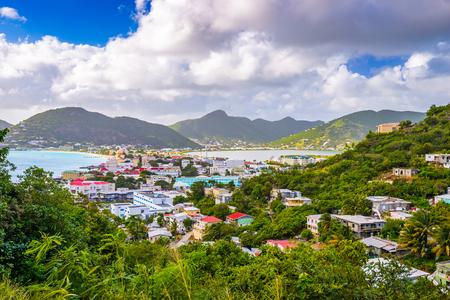 Philipsburg, Sint Maarten, Dutch Antilles.