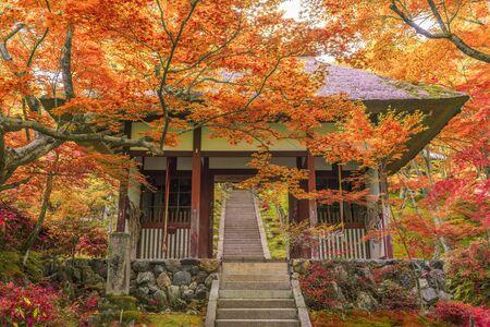 Kyoto, Japan at Jojakko Temple.