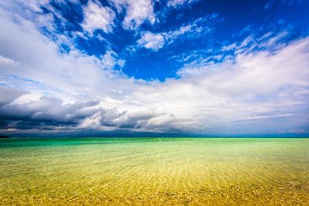 Hatenohama Beach, Kumejima, Okinawa, Japan.