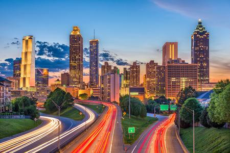Atlanta, Georgia, USA downtown city skyline. Stock Photo