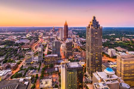 Atlanta, Georgia, USA downtown skyline. Stock Photo