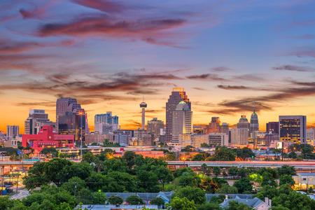 San Antonio, Texas, USA downtown skyline. Stockfoto